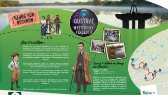 Explor'Games® «Gustave et le mystérieux pendentif» – Sauvez l'histoire de Neung-sur-Beuvron ! Parcours vélo 11 et 14 km