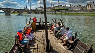 Découverte de la Loire en bateau traditionnel