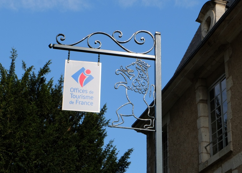 Panneau extérieur Office de Tourisme de Vendôme - Territoires Vendômois