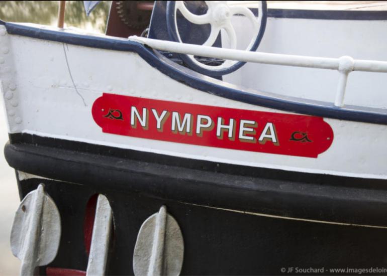 Péniche-hôtel Le Nymphéa - Tourisme fluvial en Loir-et-Cher Val de Loire
