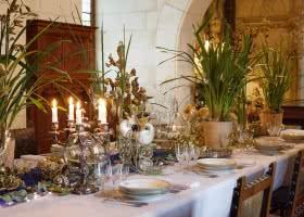 Décors d'hiver - Noël au château de Chaumont-sur-Loire