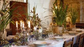 Décors d'hiver – Noël au château de Chaumont-sur-Loire