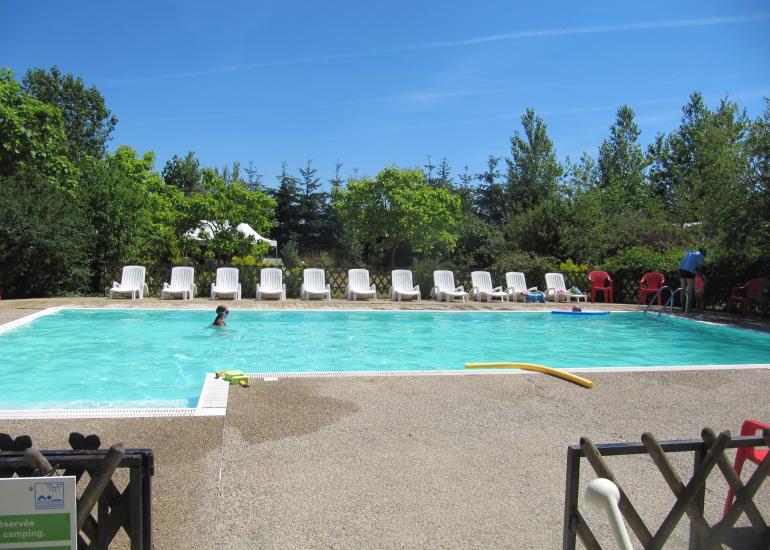 Ferme pédagogique de Prunay - piscine