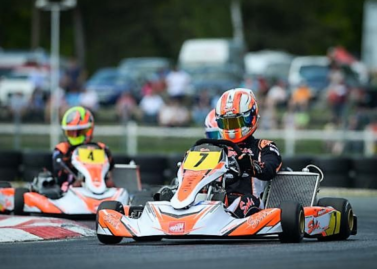 circuit internationale de karting à Salbris