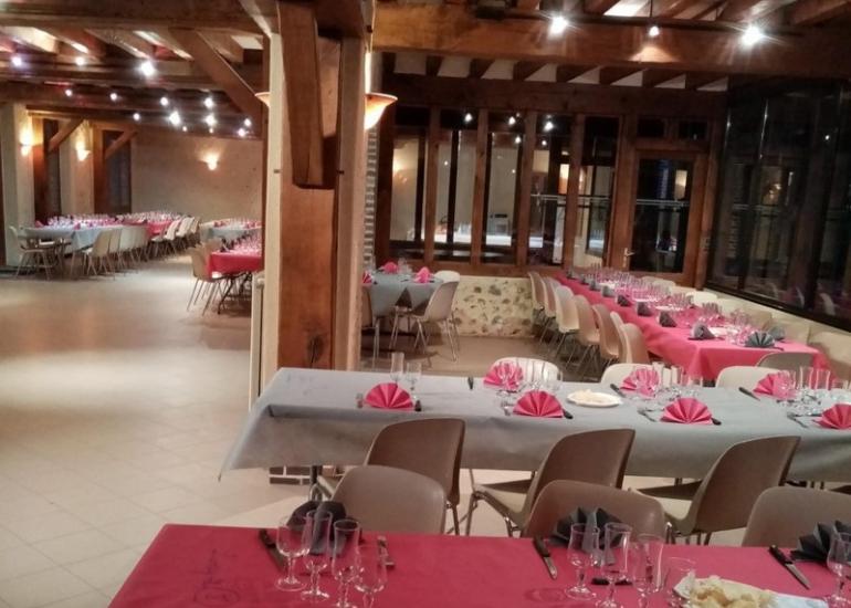 Salle domaine rose - Domaine de Boisvinet