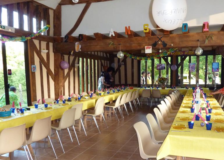 Salle du vivier - Domaine de Boisvinet