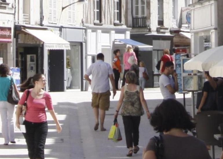 Centre-ville de Vendôme