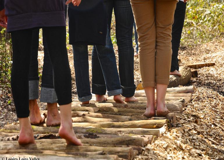 sentier-pieds-nus-rondins-groupe
