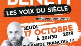 Spectacle de l'imitateur Stan Benett «Les voix du siècle»