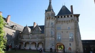 Visite thématique  « Le chant des Muses » au château de Talcy