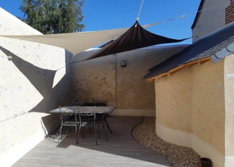 Terrasse privée du Pressoir