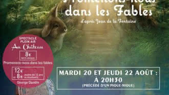 Théâtre – Promenons nous dans les fables au Château de Laborde Saint-Martin