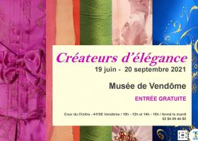 Exposition : Créateurs d'élégance à Vendôme