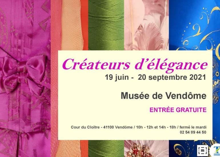 Exposition Créateurs d'élégance au musée de Vendôme