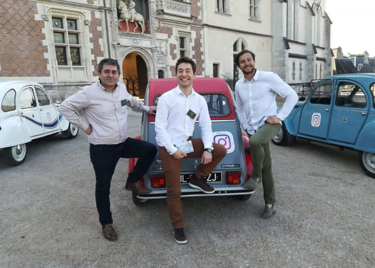 Tour en 2CV Gastronomique France Terroir
