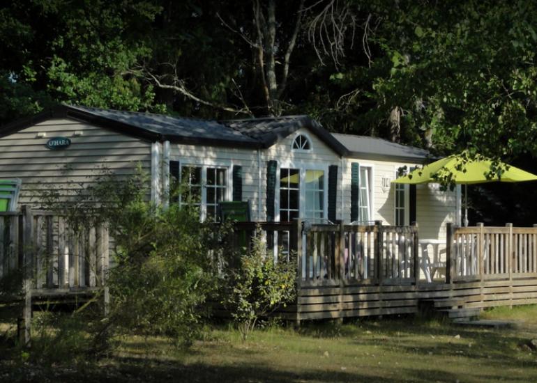 location de mobil homes au camping la grande sologne