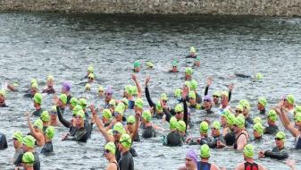 Triathlon - nage