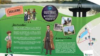 Explor'Games® «Gustave et le mystérieux pendentif» – Les souvenirs de Veilleins – 1,2 km