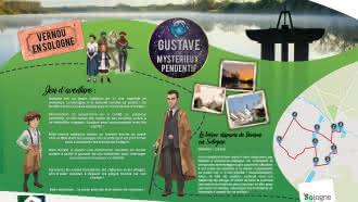 Explor'Games® «Gustave et le mystérieux pendentif» – Le trésor disparu de Vernou-en-Sologne – 2,5 km