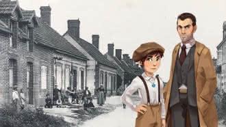 Explor'Games® Gustave et le mystérieux pendentif – Les secrets de Villeny – 2,8 km