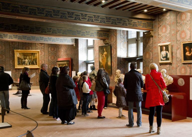 Visite familiale du château royal de Blois