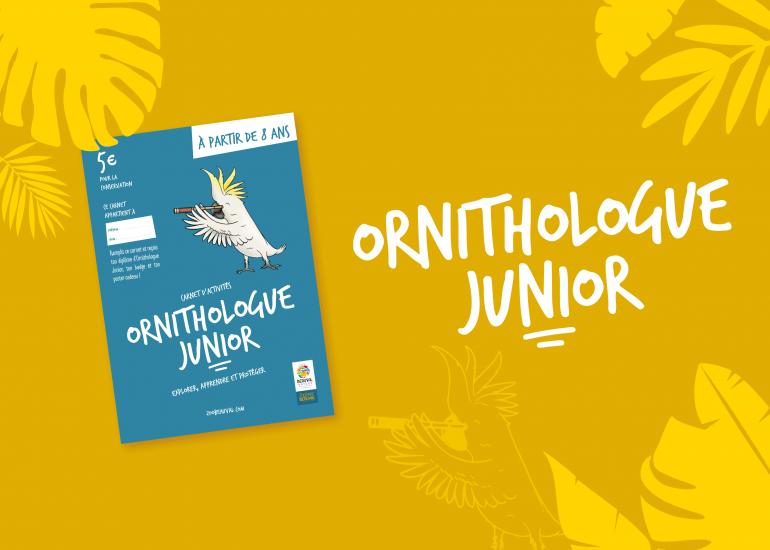 Carnet Ornithologue Junior