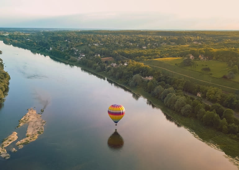 survoler la Loire