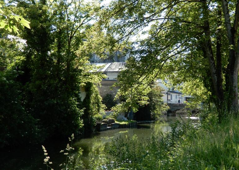 Jardin du Loir à Vendôme