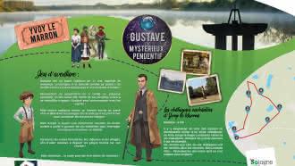 Explor'Games® «Gustave et le mystérieux pendentif» – Les châtaignes enchantées d'Yvoy-le-Marron – 4 km